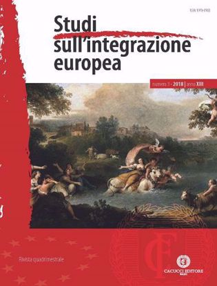 Immagine di Studi sull'integrazione europea - Anno XIII, n.3