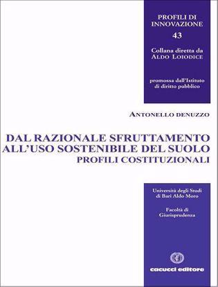 Immagine di Dal razionale sfruttamento all'uso sostenibile del suolo. Profili costituzionali.