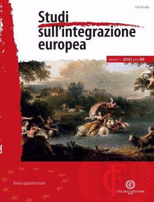 Immagine di Studi sull'integrazione europea - Anno XIII, n.1