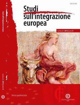 Immagine di Studi sull' integrazione europea - Anno X, n.2