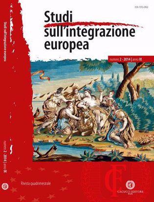 Immagine di Studi sull' integrazione europea - Anno IX, n.2