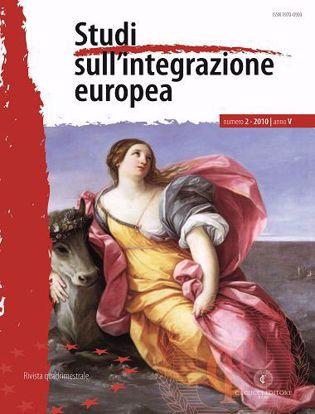 Immagine di Studi sull' integrazione europea - Anno  V, n.2