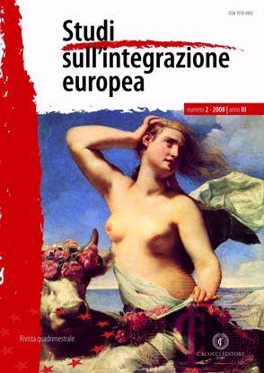 Immagine di Studi sull' integrazione europea - Anno  III, n.2