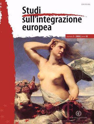 Immagine di Studi sull' integrazione europea - Anno  III, n.1