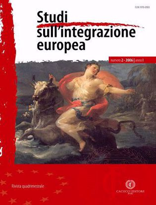 Immagine di Studi sull' integrazione europea - Anno  I, n.2