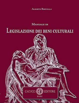 Immagine di Manuale di legislazione dei beni culturali