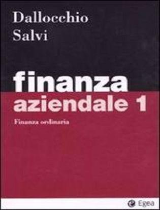 Immagine di Finanza aziendale vol.1 Finanza ordinaria