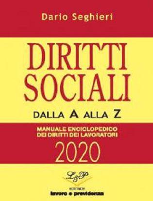 Immagine di Diritti sociali dalla A alla Z. Manuale enciclopedico dei diritti dei lavoratori