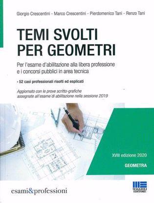 Immagine di Temi svolti per geometri. Per l'esame d'abilitazione alla libera professione e i concorsi pubblici in area tecnica