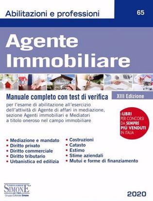 Immagine di Agente immobiliare. Manuale completo con test di verifica