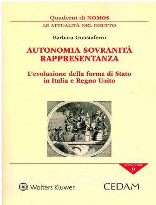 Immagine di Autonomia sovranità rappresentanza.