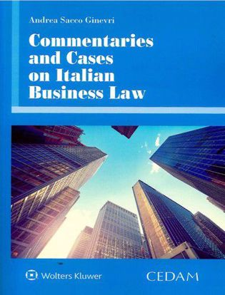 Immagine di Commentaries and cases on italian business law.