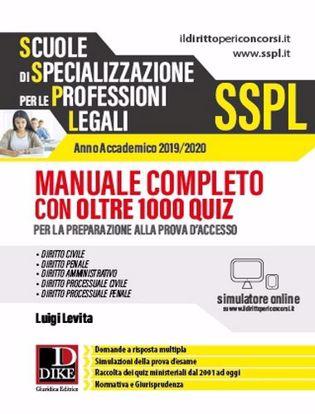 Immagine di SSPL Manuale + Quiz a.a.2019/2020,