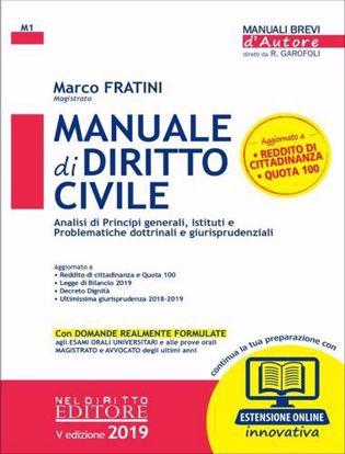 Immagine di Manuale di diritto civile. Con aggiornamento online