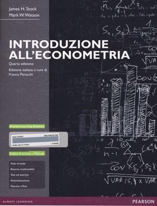 Immagine di Introduzione all'econometria. Ediz. MyLab. Con espansione online