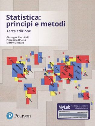 Immagine di Statistica: principi e metodi. Ediz. mylab. Con aggiornamento online
