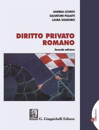 Immagine di Diritto privato romano