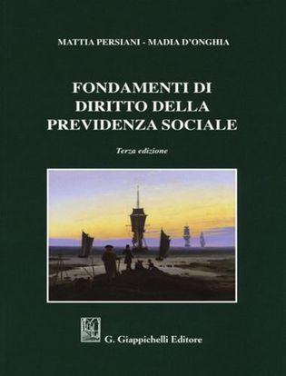 Immagine di Fondamenti di diritto della previdenza sociale