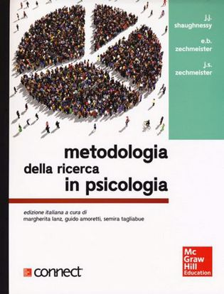 Immagine di Metodologia della ricerca in psicologia