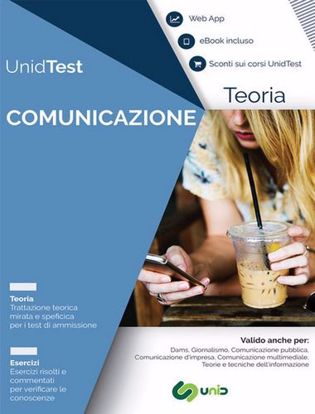 Immagine di Manuale di teoria per il test di ammissione a Comunicazione. Con ebook. Con Contenuto digitale per accesso on line