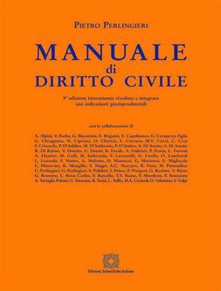 Immagine di Manuale di diritto civile