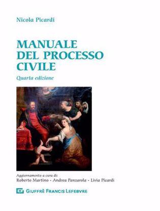 Immagine di Manuale del processo civile