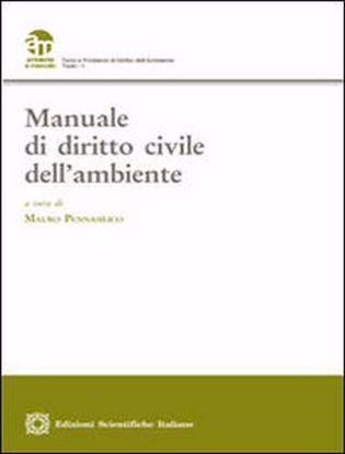 Immagine di Manuale di diritto civile dell'ambiente