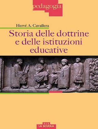 Immagine di Storia delle dottrine e delle istituzioni educative
