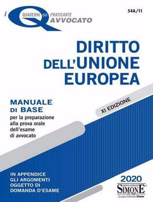Immagine di N. 54A/11 Diritto dell'Unione Europea.