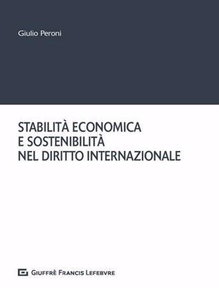 Immagine di Stabilità economica e sostenibilità nel diritto internazionale