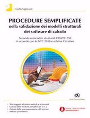 Immagine di Procedure semplificate nella validazione dei modelli strutturali dei software di calcolo. Con Contenuto digitale per download