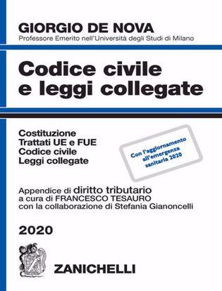 Immagine di Codice civile e leggi collegate.