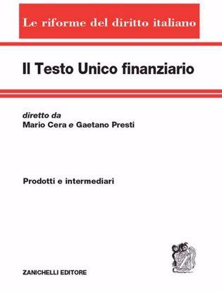 Immagine di Il testo unico finanziario. Vol. 1