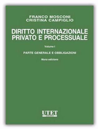 Immagine di Diritto internazionale privato e processuale. Vol. 1
