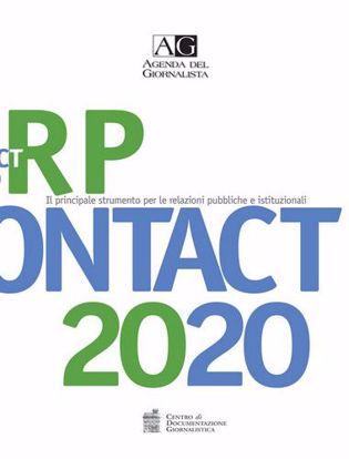 Immagine di Agenda del giornalista. RP Contact 2020.