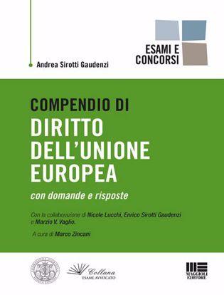 Immagine di Compendio di diritto dell'Unione Europea con domande e risposte.