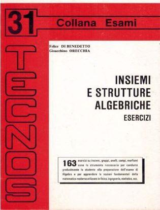Immagine di Insiemi e strutture algebriche. Esercizi Vol. 31