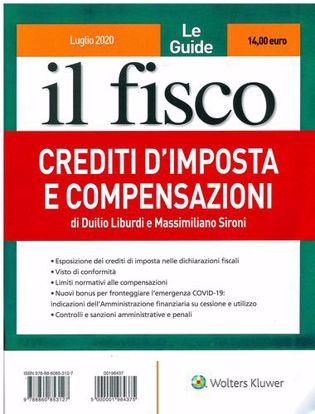 Immagine di Crediti d'imposta e compensazioni.