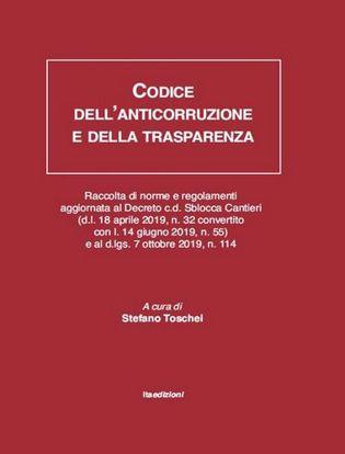 Immagine di Codice dell'anticorruzione e della trasparenza.