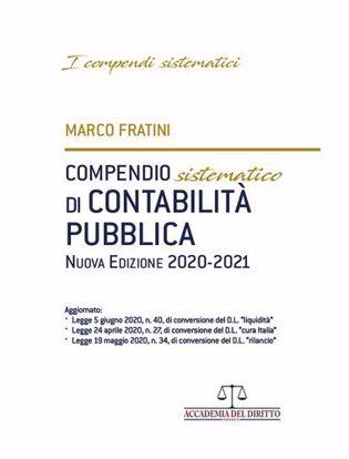 Immagine di Compendio Sistematico di Contabilità Pubblica 2020-2021.