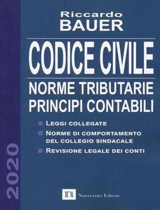 Immagine di Codice civile 2020. Norme tributarie, principi contabili
