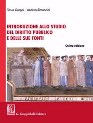 Immagine di Introduzione allo studio del diritto pubblico e delle sue fonti