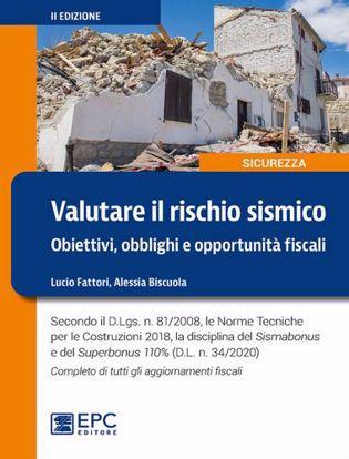 Immagine di Valutare il rischio sismico. Obiettivi, obblighi e opportunità fiscali. Ediz. ampliata