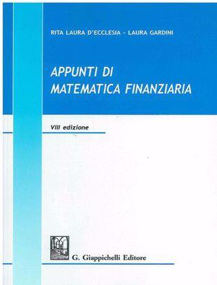 Immagine di Appunti di matematica finanziaria