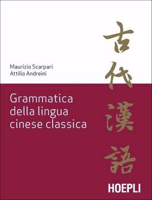 Immagine di Grammatica della lingua cinese classica