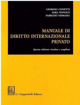Immagine di Manuale di diritto internazionale privato