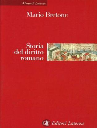 Immagine di Storia del diritto romano