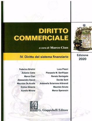 Immagine di Diritto commerciale. Vol. 4: Diritto del sistema finanziario