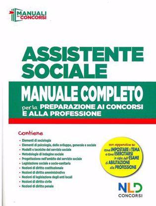 Immagine di Concorso assistente sociale. Manuale completo per la preparazione al concorso
