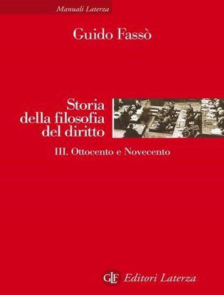 Immagine di Storia della filosofia del diritto. Vol. 3: Ottocento e Novecento